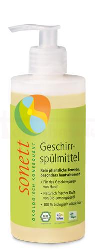 Tekutý prostriedok SONETT na riad 300 ml