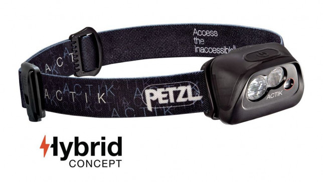Petzl  ACTIK CORE starý model - čierna