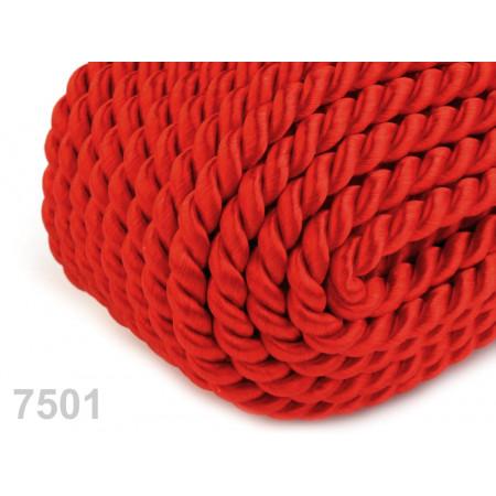 Krútená šnúra na skautskú píšťalu Ø4 mm - červená