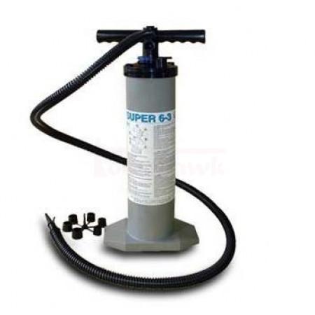 Ručná dvojčinná pumpa HIKO aj s nadstavcami v balení