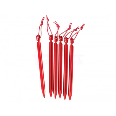 MSR Mini-Groundhog Tent Stakes sada 6 ks