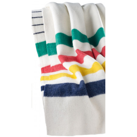 Deka Hudson's Bay Multi Stripe Point Blanket