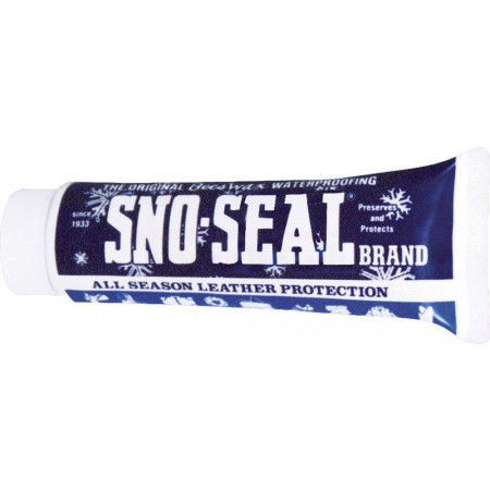Impregnation of beeswax Sno-Seal tube clear