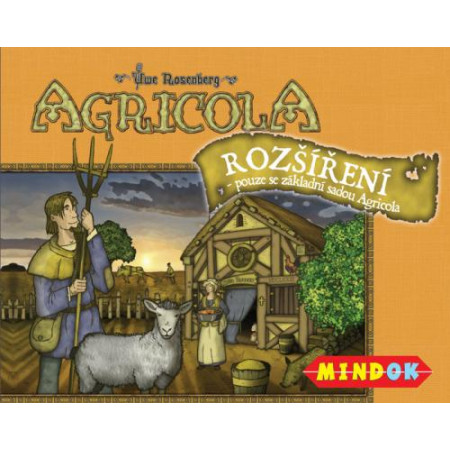 Agricola - rozšírenie