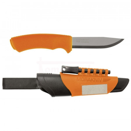Nôž Mora Bushcraft Survival orange