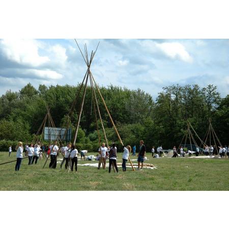 Indiánsky stan típí (tee-pee) na požičanie - prenájom a požičovňa indiánskych stanov