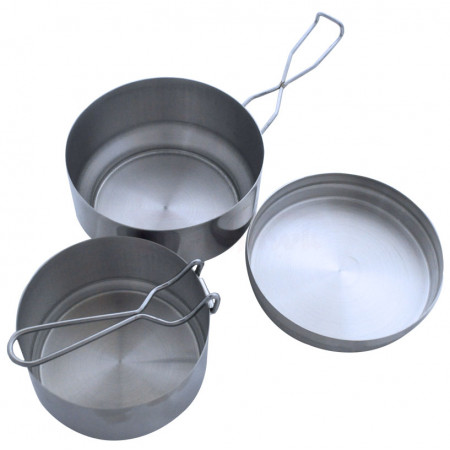 Three part stainless set of pots VAR (ALB Forming)