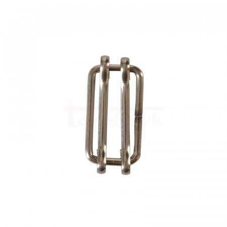 Stainless steel coupler for tape up to 20mm